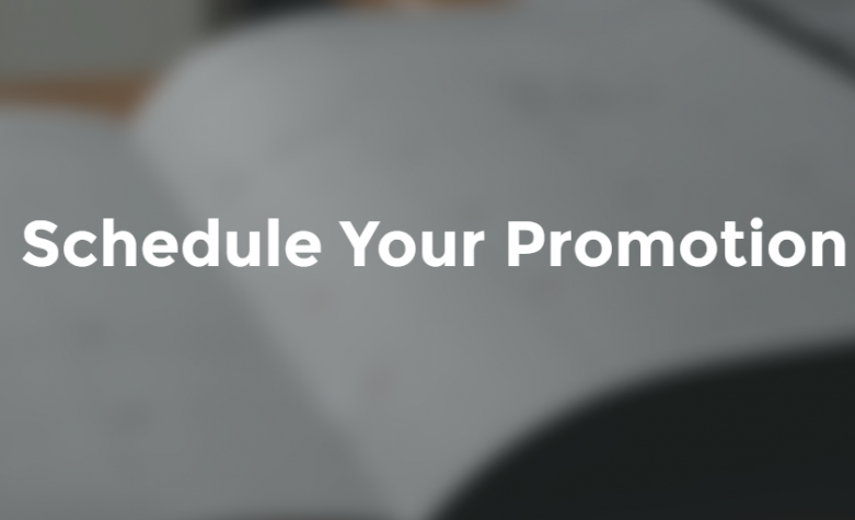 Schedule Your Promotion | Phenomenal Image