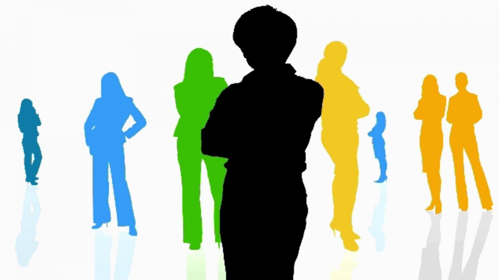 Why we coach overlooked remarkable women in their careers - silhouette of confident women